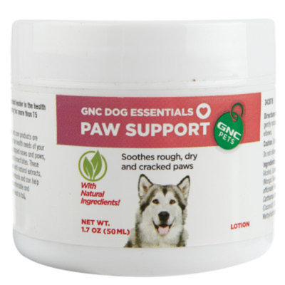 GNC Pets Dog Essentials Paw Support Lotion