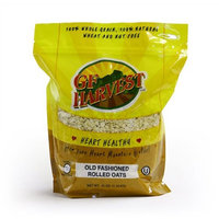 Gluten Free Oats GF Harvest Gluten Free Old Fashioned Rolled Oats, 41-Ounce Bags (Pack of 3)