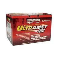 Champion Nutrition UltraMet Lite, Vanilla Cream 20-2 oz (56g) packets
