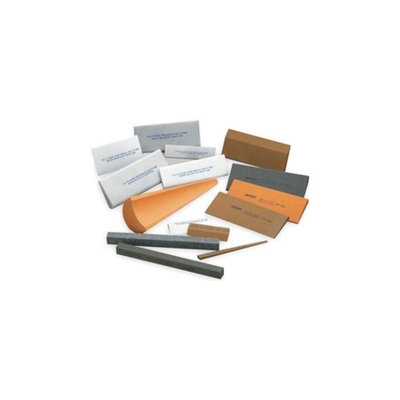 Norton Sharp Slip File, Rd Edge, A/O, Org/Brown, Med