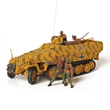 Unimax Toys Limited Unimax Forces of Valor Sd. Kfz 251 1:32 Scale