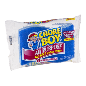 Chore Boy All Purpose Two-Sided Scrubber Sponge