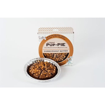 The Lazy Dog Cookie Co Inc The Original Carob Peanut Butter Pup-pie, 5-Ounce Boxes (Pack of 4)