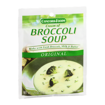 Concord Foods Cream of Broccoli Soup Original
