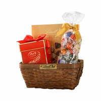 Lindt Chocolate Thank You Gift Basket, Assorted, 1.37 lb
