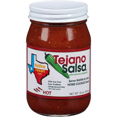 Generic Tejano Salsa Native Texan Style Hot Salsa, 16 oz