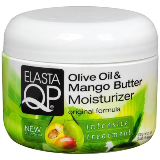 Elasta QP Olive Oil Mango Butter Moisturizer, 6 oz