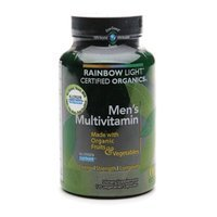Rainbow Light Certified Organic Men's Multivitamin