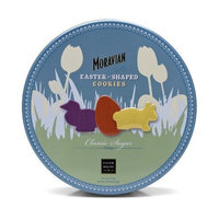 Salem Baking Company Moravian Classic Sugar Cookies in Easter Shapes, 7.75-Ounce Tins (Pack of 2)