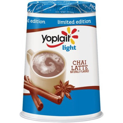 Yoplait® Light Limited Edition Chai Latte Fat Free Yogurt