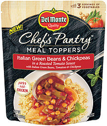 Del Monte® Chef's Pantry Italian Green Beans & Chickpeas Meal Toppers