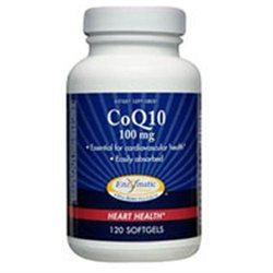 Enzymatic Therapy CoQ10 - 100 mg - 120 Softgels