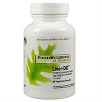 Frontier Natural Products Co-op 218928 FoodScience of Vermont Specialty Supplements Liver-DX 60 vegetarian capsules