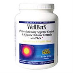 Natural Factors WellBetX Weight Loss Shake French Vanilla - 1.9 lbs