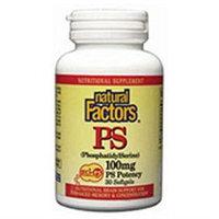 PhosphatidylSerine 100 mg 30 Softgels by Natural Factors