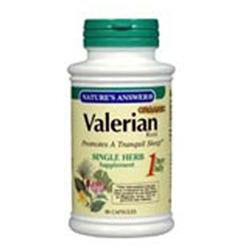 tures Answer Nature's Answer Valerian Root Extract - 90 Vegetarian Capsules