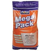 NOW Foods - Whey Protein Mega Pack Vanilla Flavor - 10 lbs.