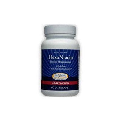 Enzymatic Therapy Hexaniacin 590 MG - 60 Capsules - Niacin