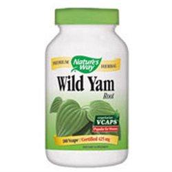 tures Way Wild Yam Root by Nature's Way - 180 Vegetarian Capsules