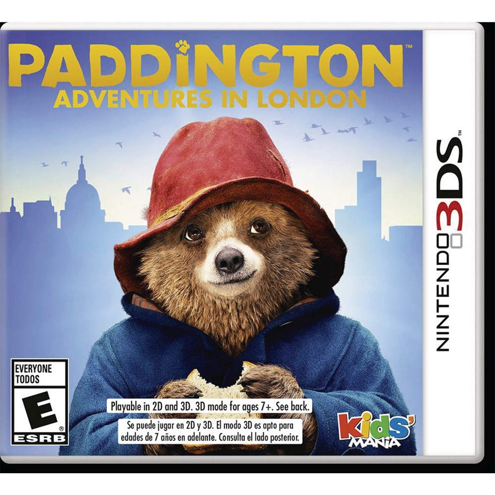 Square Enix Paddington: Adventures In London - Nintendo 3ds