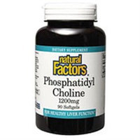 Natural Factors Phosphatidyl Choline - 420 mg - 90 Softgels