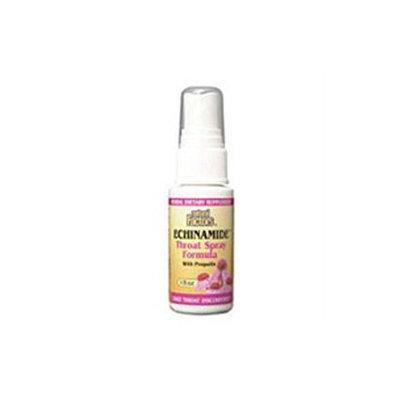 Echinamide Throat Spray with Propolis 1 oz, Natural Factors