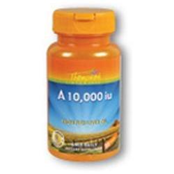 Vitamin A Retinyl Palmitate 10,000 IU 30 softgels, Thompson Nutritional Products