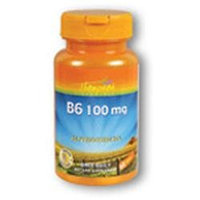 Vitamin B-6 100mg 60 tabs, Thompson Nutritional Products