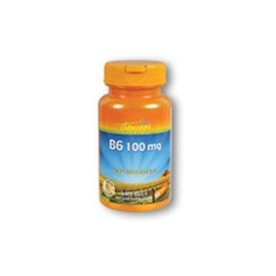 Vitamin B-6 100mg 60 tabs, Thompson Nutritional Products