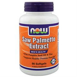 NOW Foods - Saw Palmetto Extract 80 mg. - 90 Vegetarian Softgels