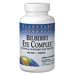 Planetary Formulations Bilberry Eye Com 320 MG - 30 Tablets - Other Herbs