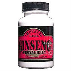 Imperial Elixir Ginseng & Royal Jelly 500 mg Capsules