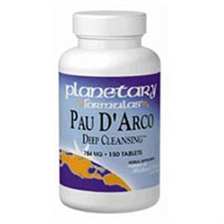 Planetary Herbals Pau D'Arco Deep Cleansing - 756 mg - 150 Tablets