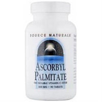 Source Naturals Ascorbyl Palmitate - 500 mg - 180 Tablets