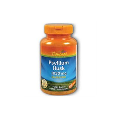 Psyllium Husk 1050mg 120 caps, Thompson Nutritional Products