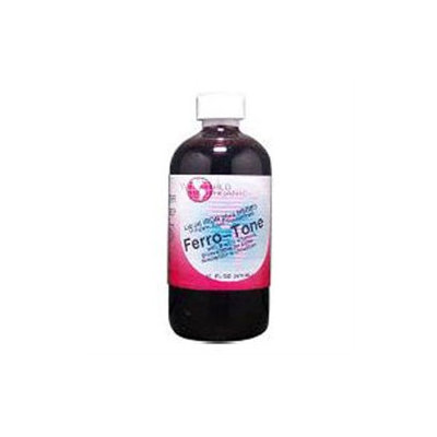 World Organic - Ferro Tone Liquid Iron plus Herbs - 16 oz.