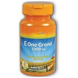 Thompson Nutritional Products Vitamin E 1000 Iu One Grand 30 Tabs