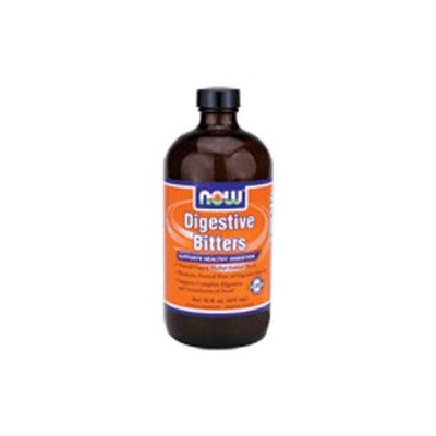 NOW Foods - Digestive Bitters Natural Liquid Herbal Extract Blend - 16 oz.