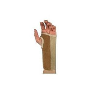 Sportaid Wrist Brace Palm Stay, Beige, Left, Large - 1 ea