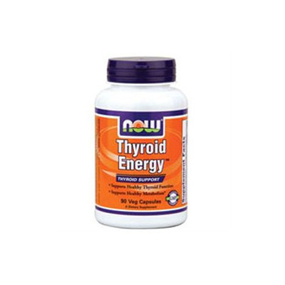 NOW Foods - Thyroid Energy - 90 Vegetarian Capsules