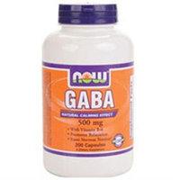 NOW Foods GABA 500 mg Caps