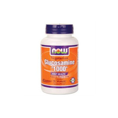 NOW Foods - Vegetarian Glucosamine 1000 Joint Health - 90 Vegetarian Capsules