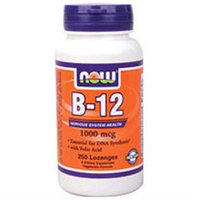 NOW Foods Vitamin B-12 1,000 mcg Lozenges