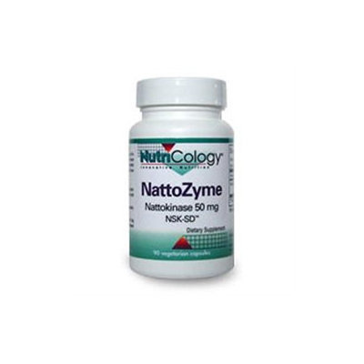 Allergy Research nutricology NattoZyme 50 mg 90 Vcaps by Nutricology/ Allergy Research Group