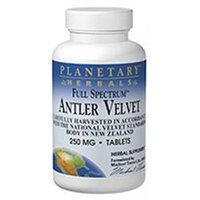 Planetary Formulations Antler Velvet 250mg Full Spectrum 60 tabs, Planetary Herbals