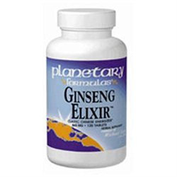 Planetary Herbals Formerly Planetary Formulas Ginseng Elixir 120 Tabs by Planetary Herbals
