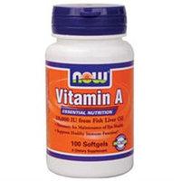 NOW Foods - Vitamin A 10000 IU - 100 Softgels