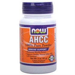 NOW Foods - AHCC 100 Pure Powder Immune Support - 2 oz.