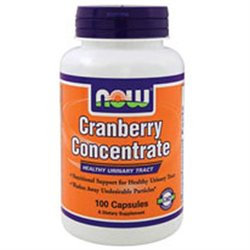 NOW Foods Cranberry Concentrate, Capsules, 100 ea