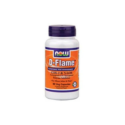 NOW Foods - D-Flame - 90 Vegetarian Capsules